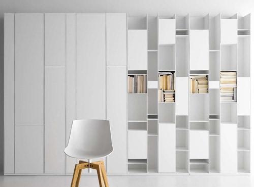 button tufted sofas htl sofa reviews modular wall storage system by mdf italia – random