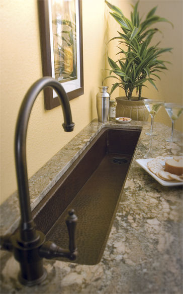 kitchen sink drain island for small bar prep from native trails - rio grande in antique ...