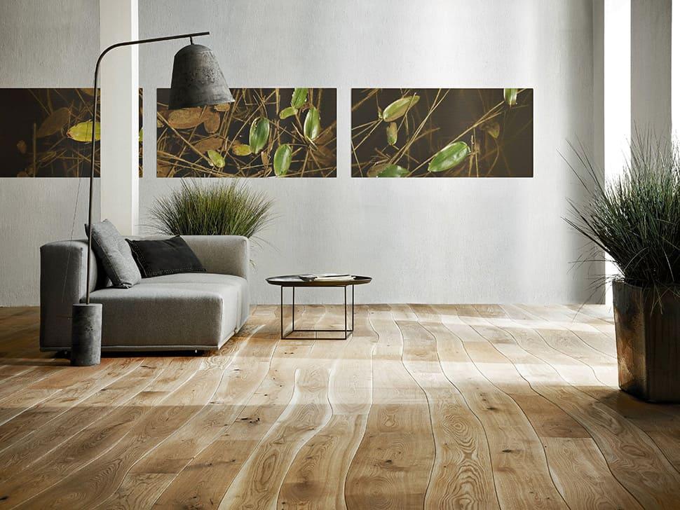 Naturally Curved Hardwood Flooring by Bolefloor