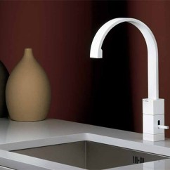 White Kitchen Faucet Retro Cabinets Collection From Newform Egon Jpg