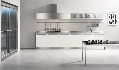 stainless steel kitchen farm sinks for kitchens from nyloft new xera line noon kitchen2 thumb