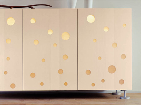 Quirky Contemporary Cupboard Design From Horm