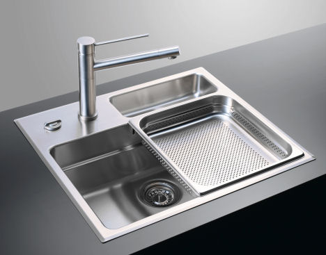 compact kitchen sink and bathroom remodeling waterstation by rieber unit round