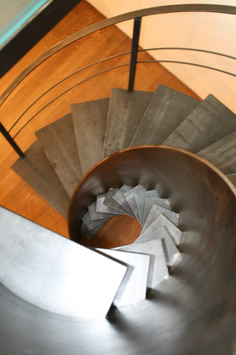 Metal Spiral Staircase  Etika architectural staircase
