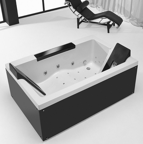 Bathtub For Two People Hi Tech TwoSpace By Sanindusa