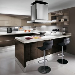 European Kitchen Design Linen Curtains From Scavolini New Scenery In Cream 1