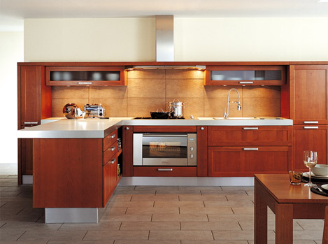 Transitional Kitchen style from Schmidt  the Quintett Kitchen