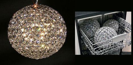 Schonbek Da Vinci Dishwasher Chandelier Crystal That Is Safe