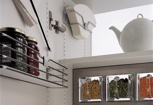kitchen storage solutions - new siematic multimatic system