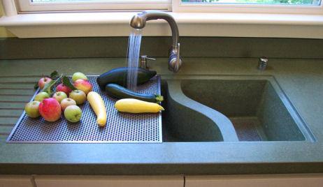 concrete kitchen sinks from sonoma stone