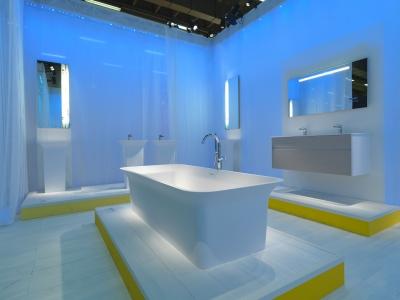 Unique Bathroom Designs  unusual bathroom suite Origami