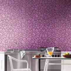 Wall Tiles For Kitchen Country Valances Stunning Floral Patterned Mosaic From Bisazza
