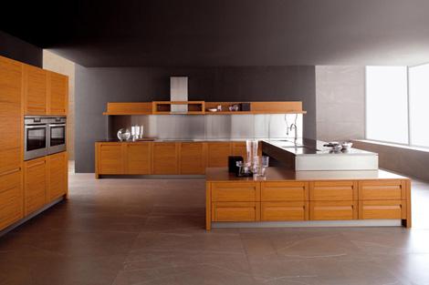 Teak Kitchen from Ged Cucine  Treviso