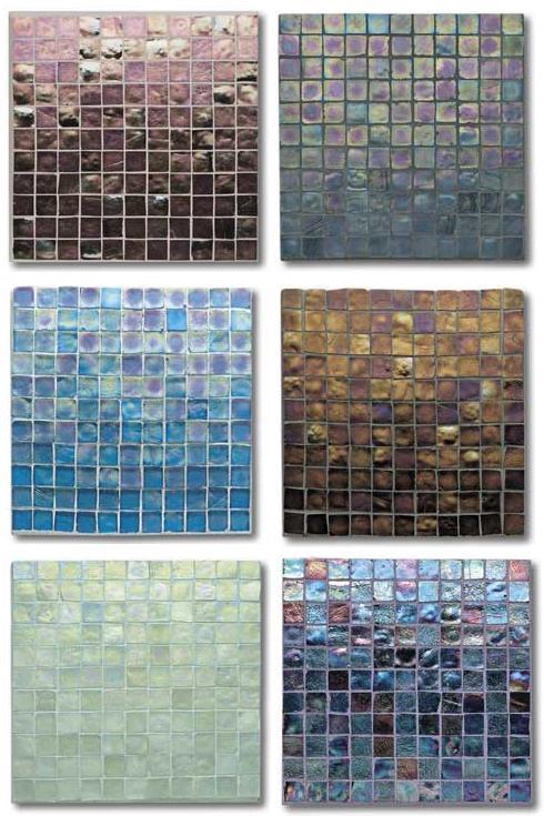 Oceanside Glasstile S Tessera Glass Tile The Iridescent