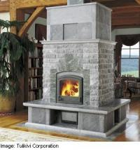 Tulikivi fireplace - soapstone fireplaces from Finland