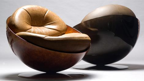 unusual armchair swing chair kuwait armchairs esfera by etel 3