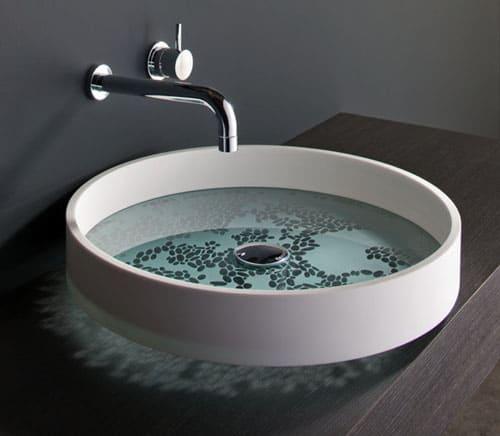 unusual bathroom basins by omvivo - motif and kl