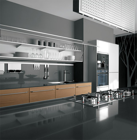 New Kitchens by Valcucine  Artematica Kembal and