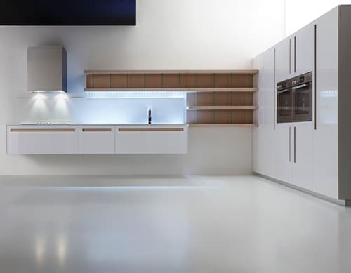 wood and glass kitchen cabinets walmart ninja mega system white of all colors - suprema modern kitchens by moka