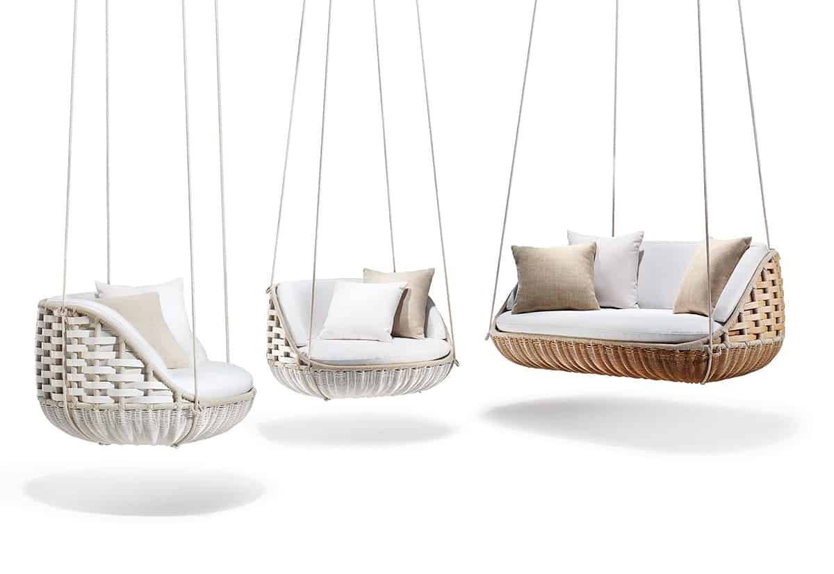 Worlds First Floating Outdoor Living Room by Dedon
