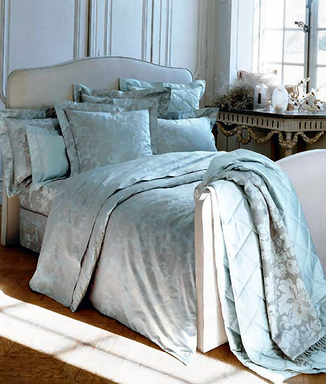 Yves Delorme Bed Linens  The Venise Luxury French Bedding