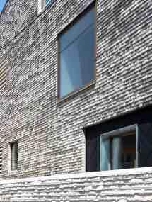 Narrow Lot Modern Fortress Wall Privacy Street