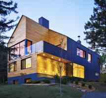 Modern Barn House Exterior