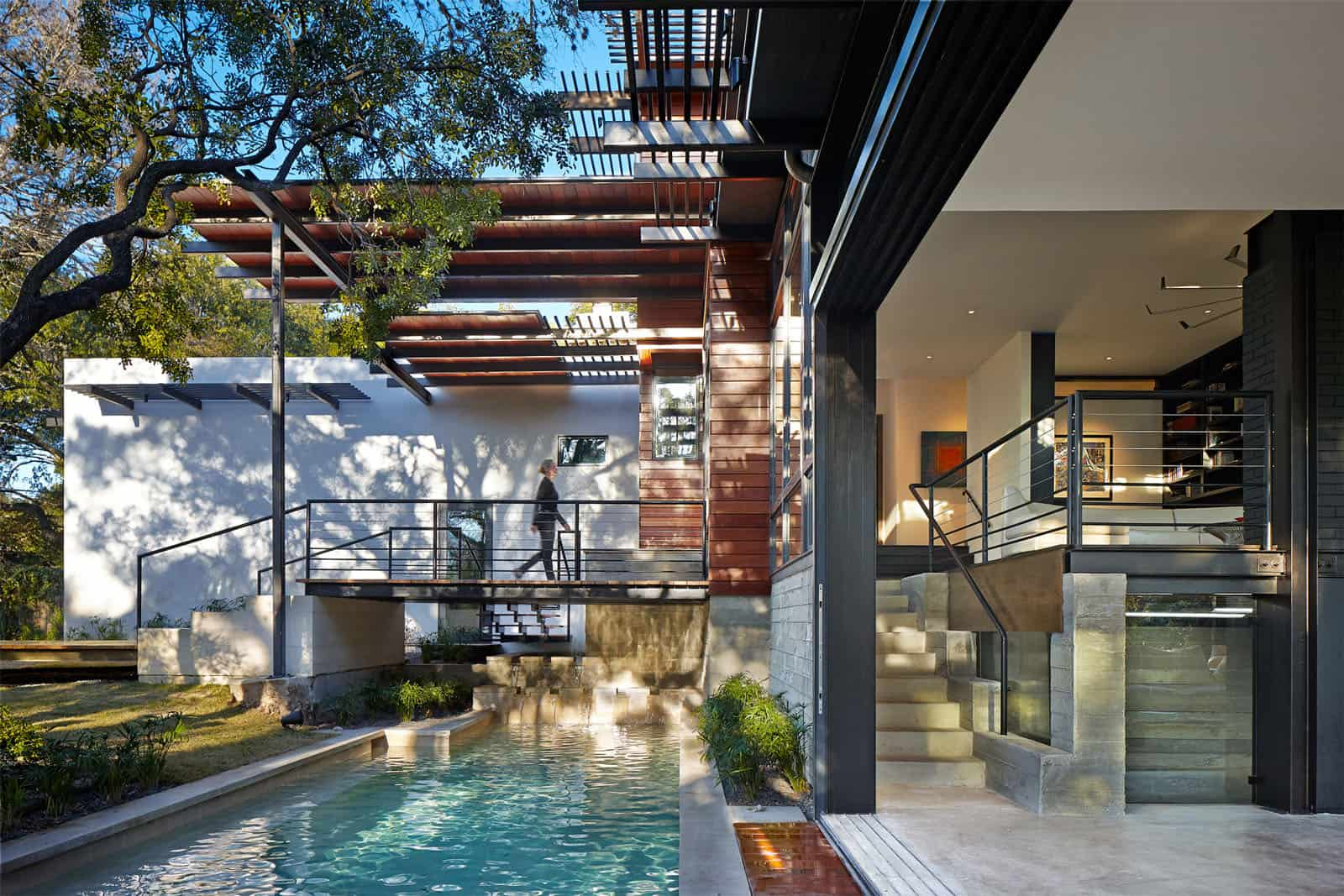 Rancher Morphed into Sustainable 2Storey House with