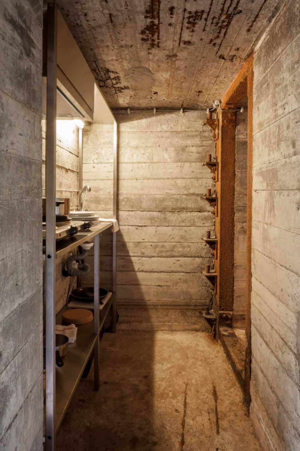 Tiny War Bunker Makes Unique Underground Home