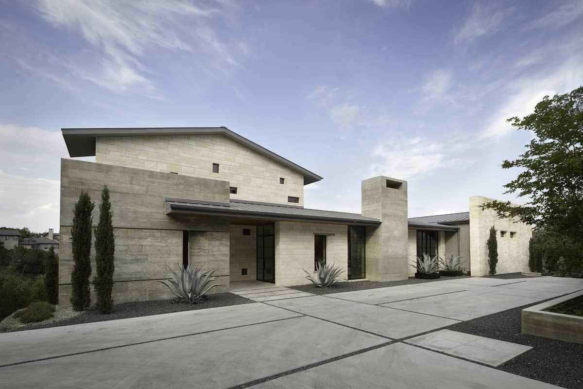 Natural Home Architectural Interior and Exterior Design by Cornerstone Architects