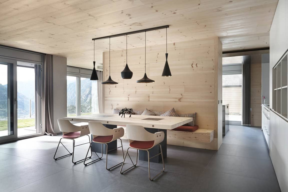 Home Decorated in Knotty Pine