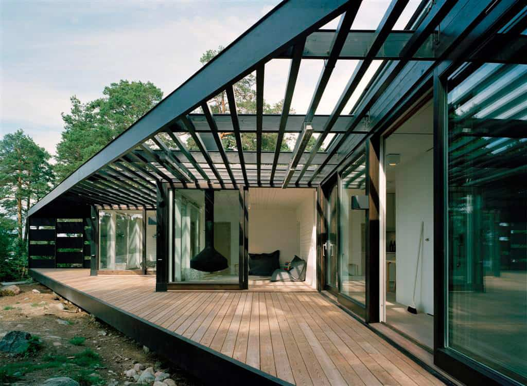 5 Geometric House Designs With Super Sophisticated Wood