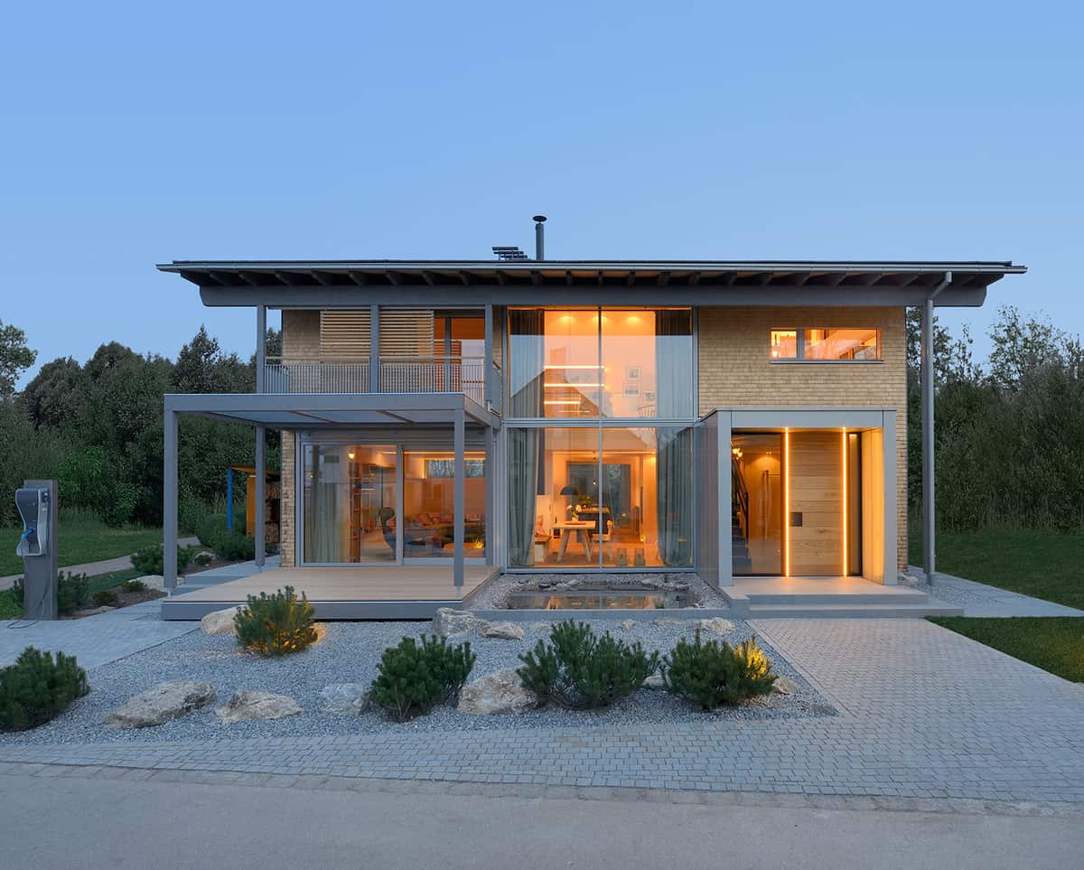 Smart House By Baufritz First Certified Self Sufficient Home In