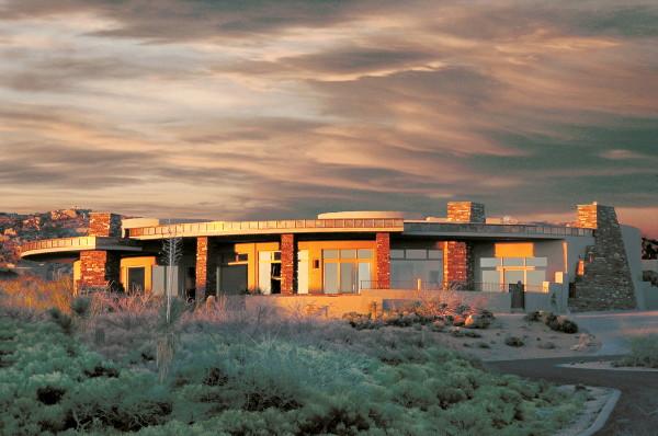 Arizona Modern Design Award Winning Arrowhead House In Scottsdale