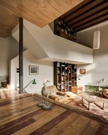 Split-Level Staircase Design