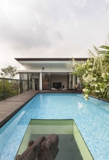 House with Rooftop Swimming Pools Designs