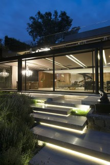 Concrete Steel and Glass Modern House Design