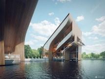Futuristic Architecture Design House