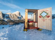 Tiny Starlight Room in the Dolomite Mountains is Heaven on ...