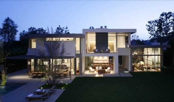 Contemporary California Cool House by Belzberg Architects