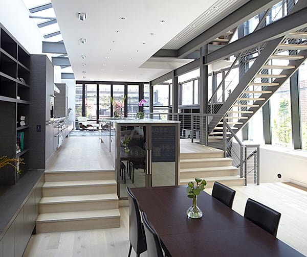 Chicago Modern House Design  Amazing Rooftop Patio