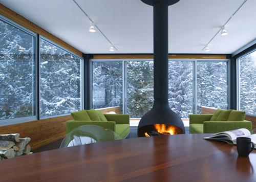 Colorado Mountain Home Design Is Modern Mountain Chic!