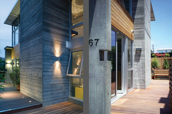 Small Concrete House In California Is Small But Sweet