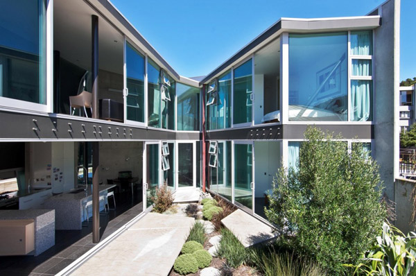 Concrete House Designs Challenging New Zealand Architecture