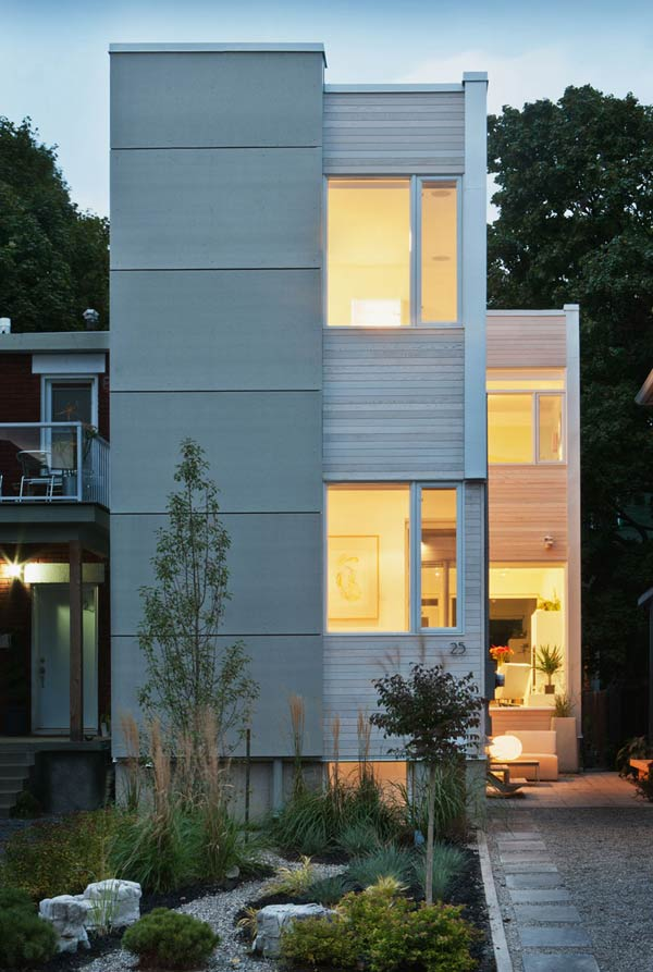 Contemporary Minimalist House Where It's All In The Details