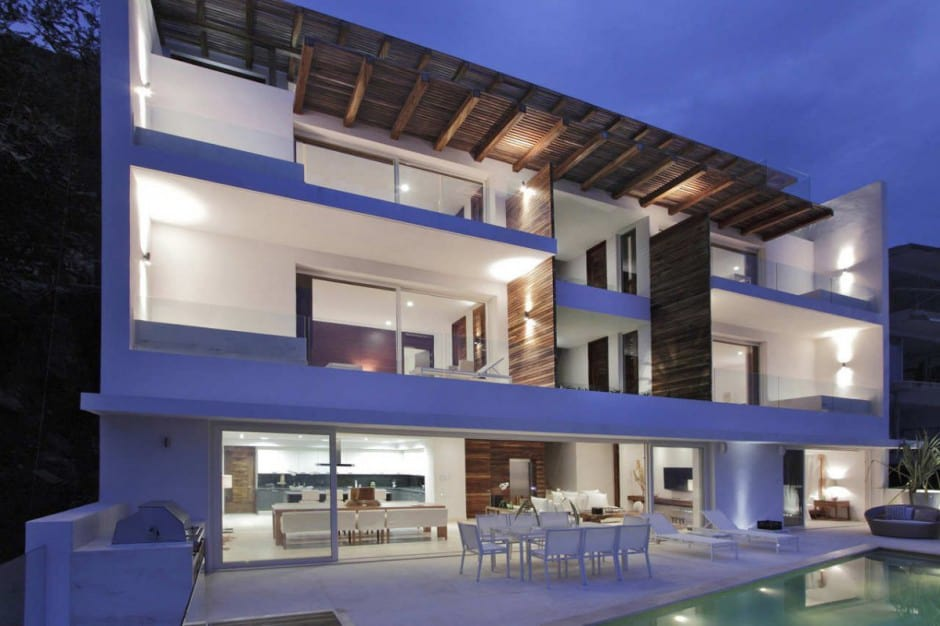 Contemporary View House In Mexican Paradise