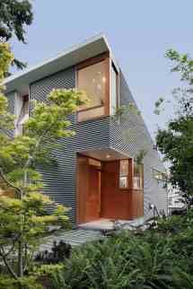 Modern Corrugated Metal Home Designs