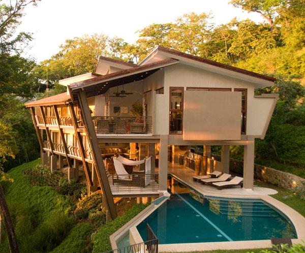 Architect And Interior Designer Build Their Fantasy Home In