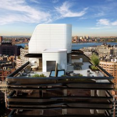 New York Loft Kitchen Design Epson Printer Modern Rooftop At Five Franklin Place In