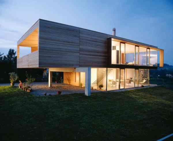 Simple Rectangular House Design